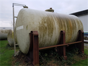 Polyester Opslagtank 20.000  liter horizontaal